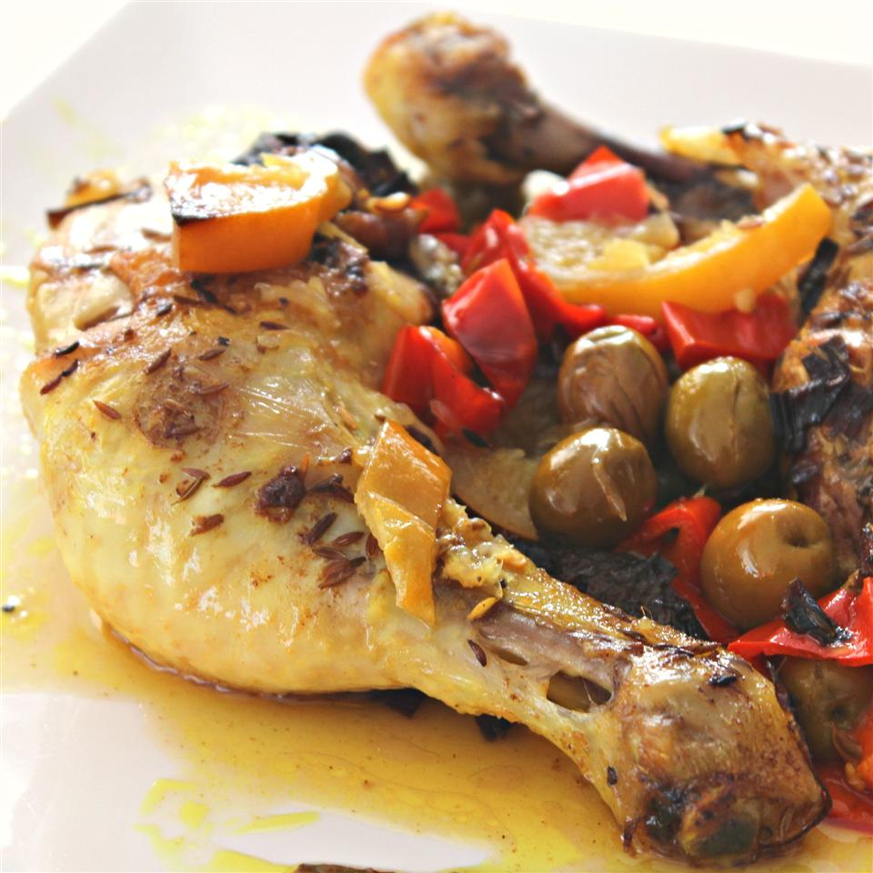 Moroccan Chicken with Saffron and Preserved Lemon katherine99