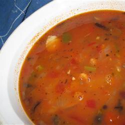Mediterranean Fish Soup Cazuela