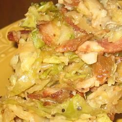 Southern Fried Cabbage Trish Beier