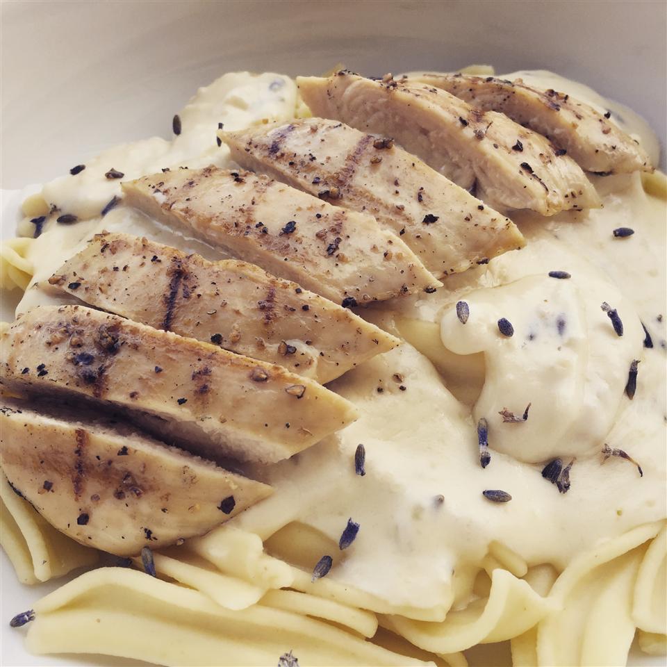 Lavender Chicken Pasta