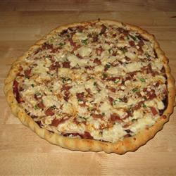 Husband-Friendly Chicken Pizza Megan Johnson Crow