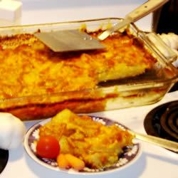 Easy Scalloped Potatoes Loafer Patent