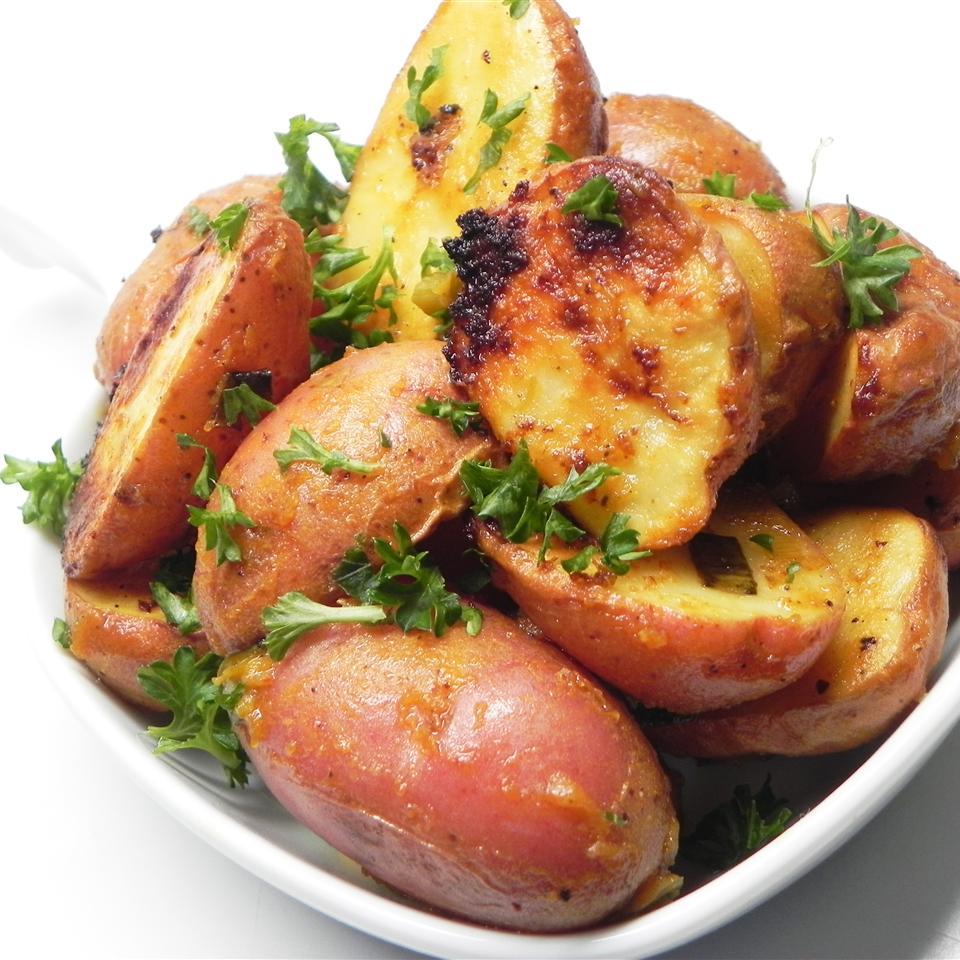 Honey-Mustard Roasted Potatoes
