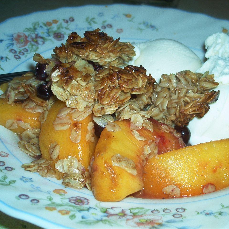 Raspberry Peach Crumble Michelle Ramey