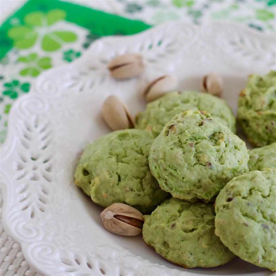 Saint Patrick's Pistachio Cookies