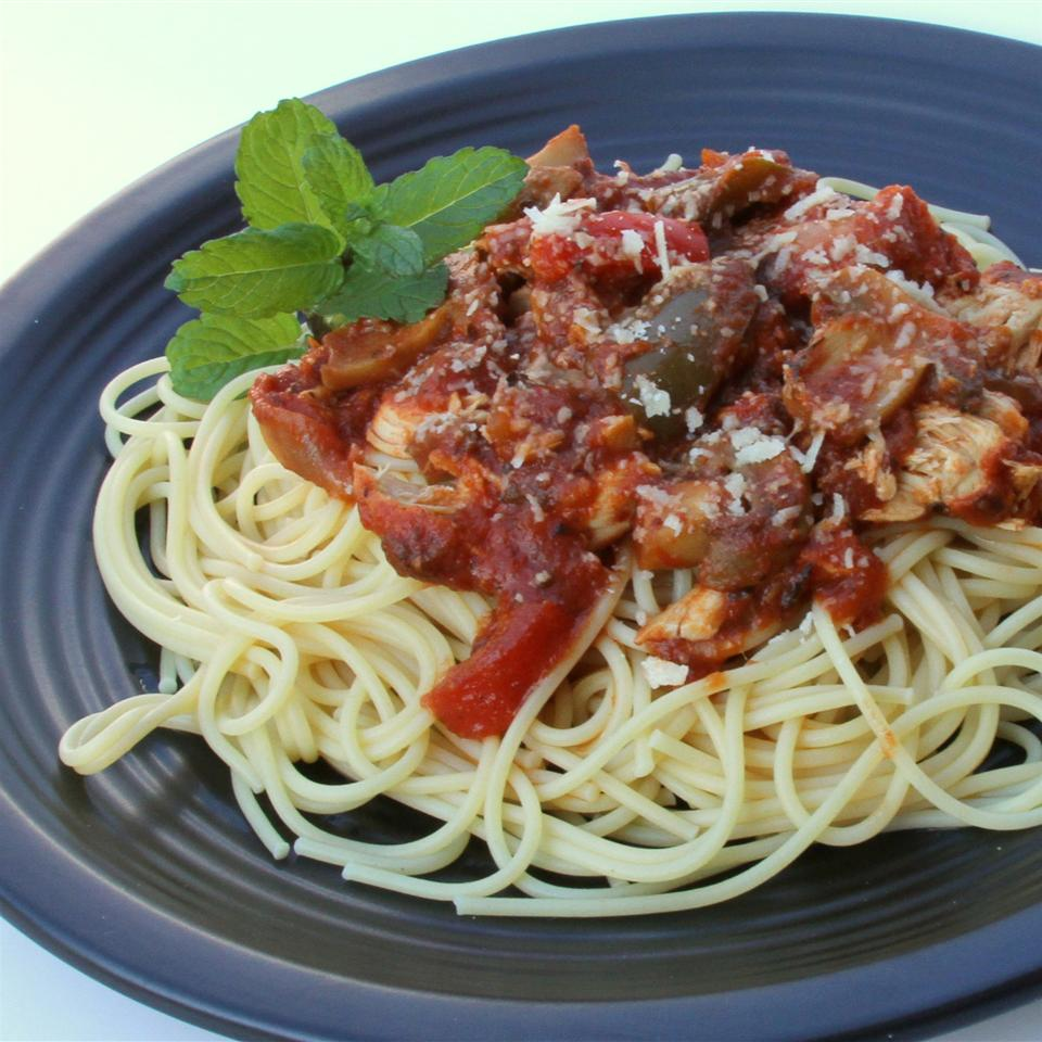 Chicken Cacciatore in a Slow Cooker LDP5