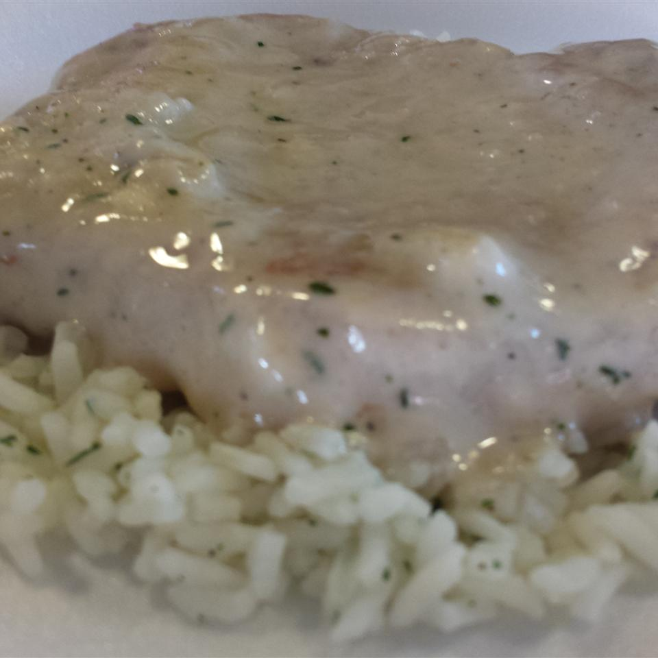 Creamy Ranch Pork Chops and Rice Melissa Sours Reid