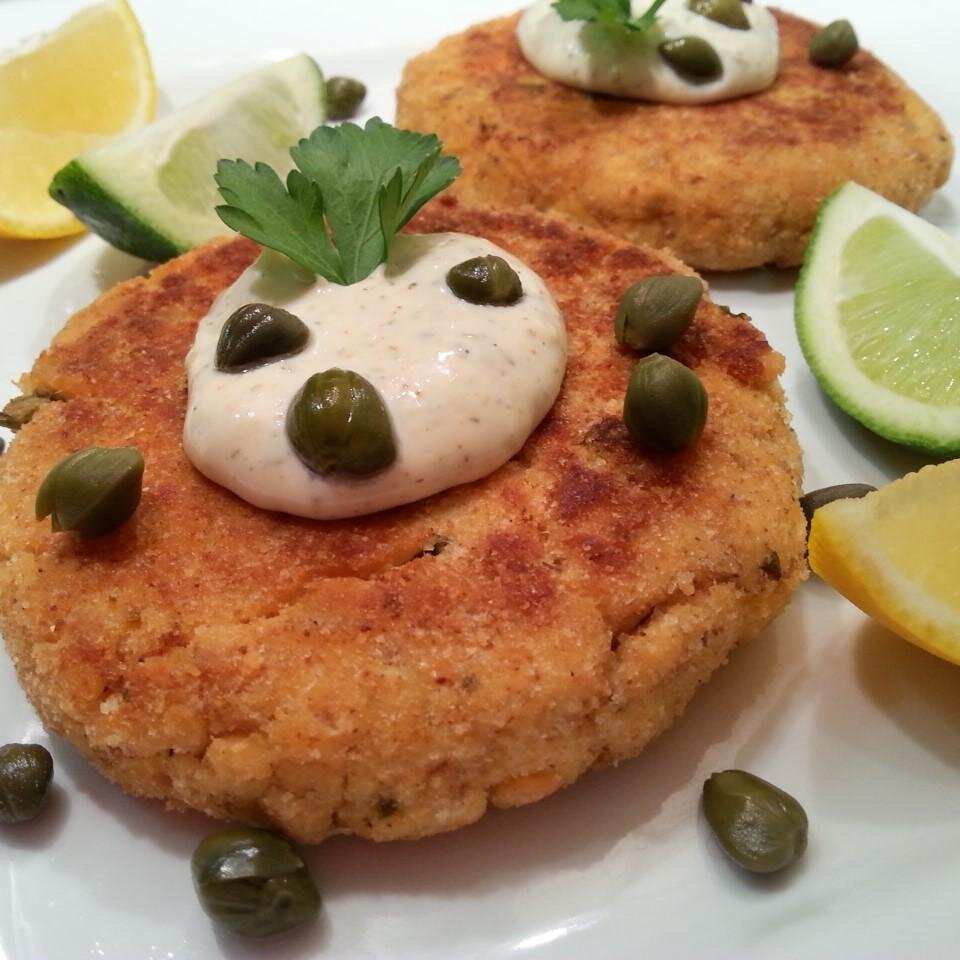 Chef John S Salmon Cakes Allrecipes