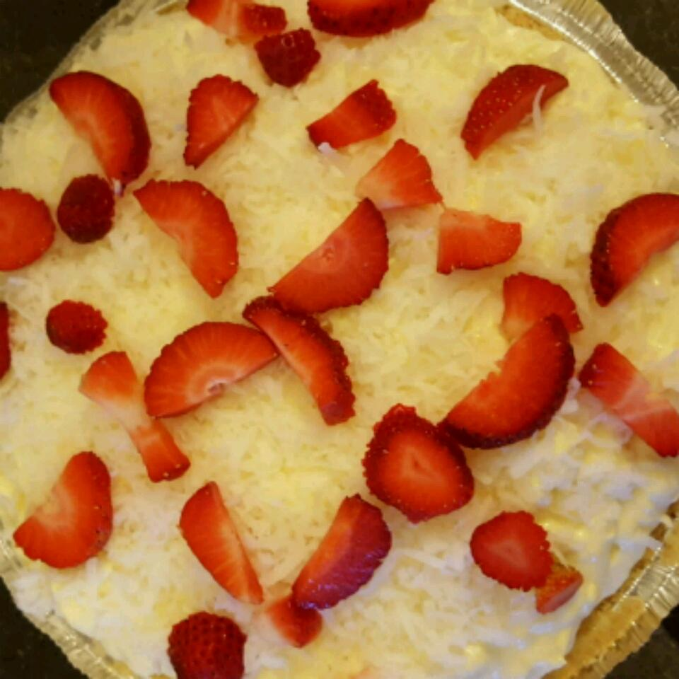 Strawberry Pina Colada Pie Cool Whip