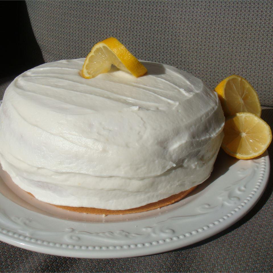 Lemon Cake with Lemon Filling and Lemon Butter Frosting House of Aqua