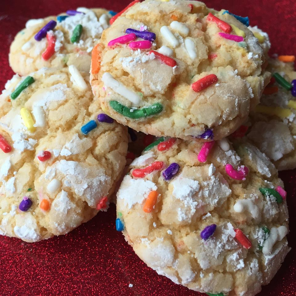 "These cake mix cookies are perfect for last minute birthday parties, or just a Tuesday night… Take it from reviewer Liks2Cook who says, ""Fun and easy to make...rich cookies! I will keep the ingredients on hand for a quick cookie fix."""