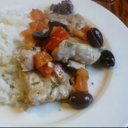 Chicken with Tomatoes and Olives WATL1