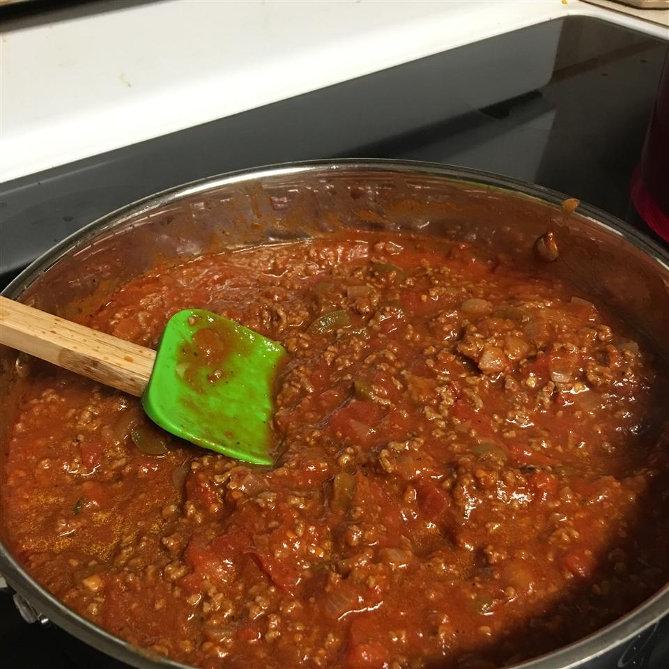 Spaghetti Sauce with Ground Beef Jessica Leigh Tadlock