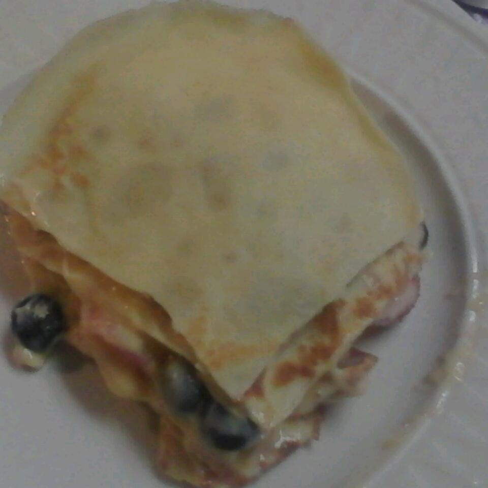 Fresh Fruit Breakfast Lasagna