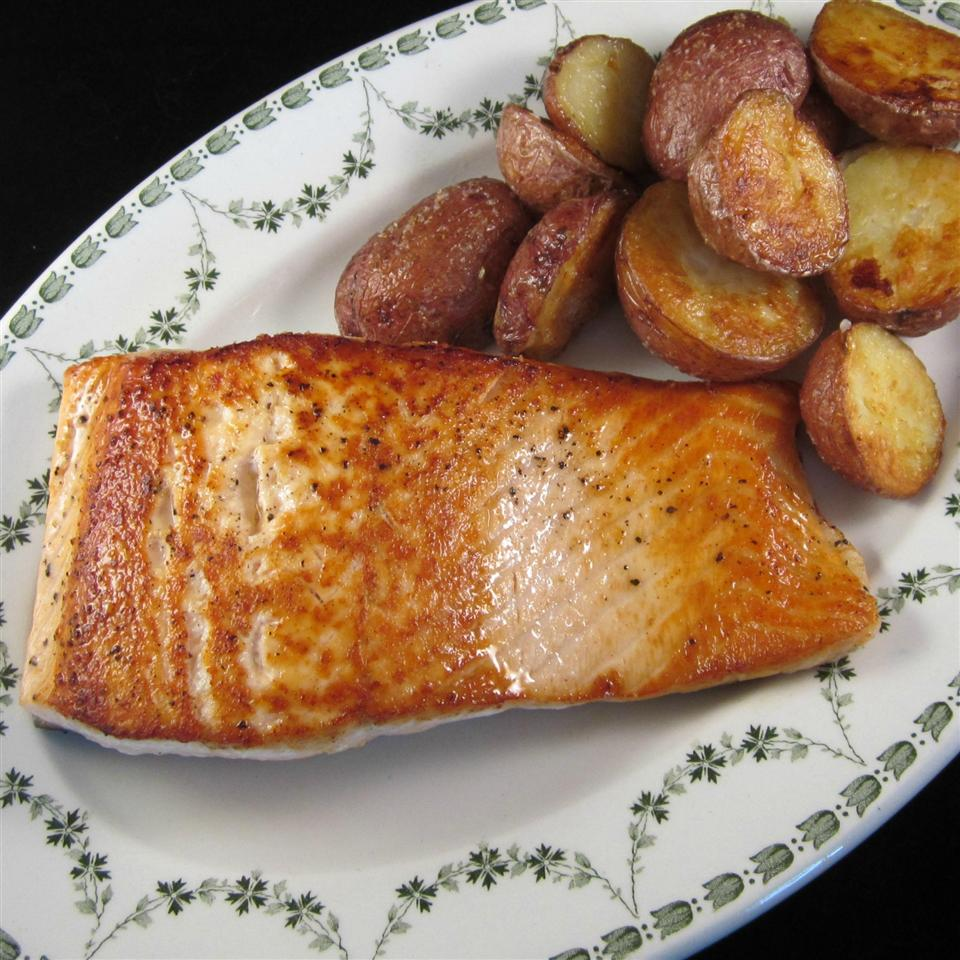 Pan-Fried Wild Salmon Peter