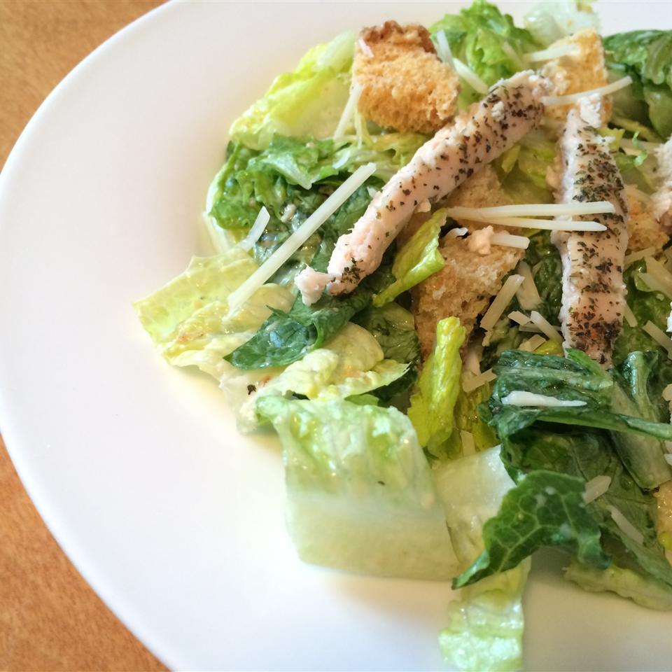 Classic Chicken Caesar Salad Bren