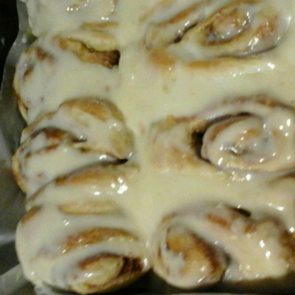 Mom's Jiffy Cinnamon Rolls gma