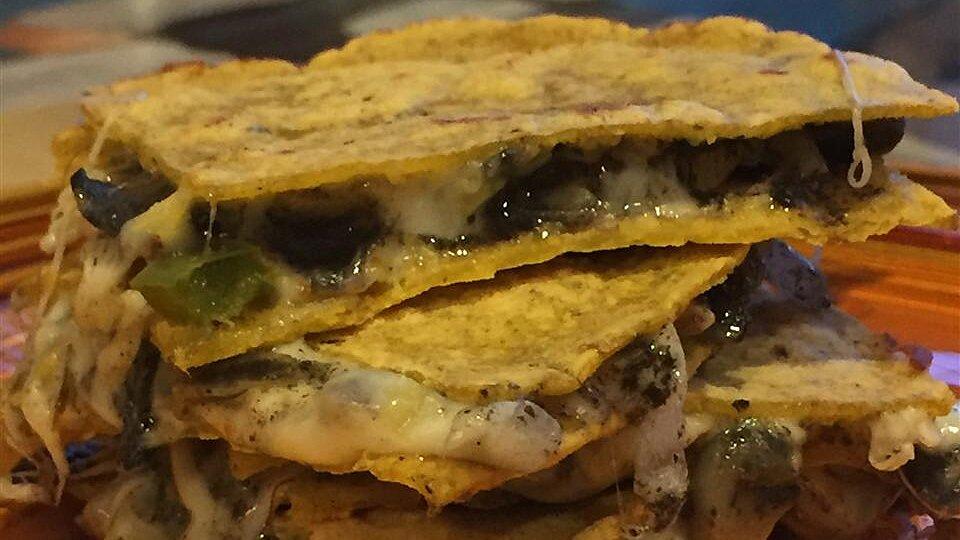 Corn Truffle (Huitlacoche) Quesadillas