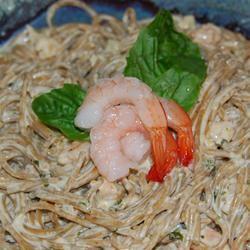 Easy Seafood Alfredo