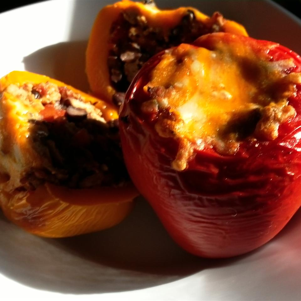 Mexican Chicken-Stuffed Peppers