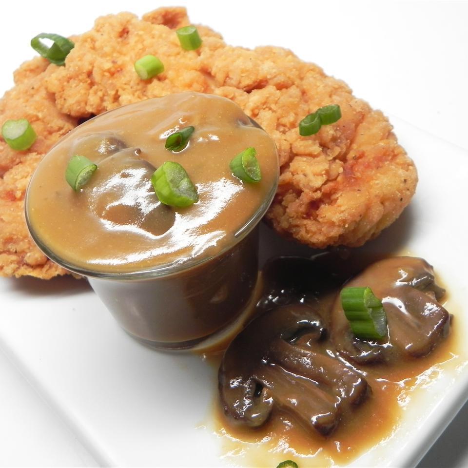 Turkey Mushroom Gravy