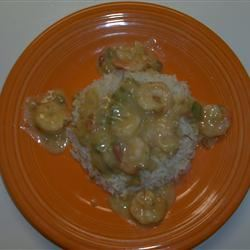 Crawfish Etoufee with Cream of Mushroom