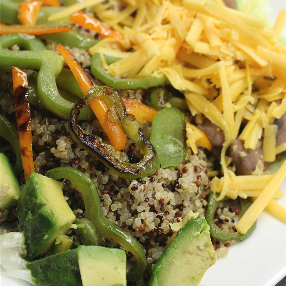 Vegan Quinoa and Guac Bowl