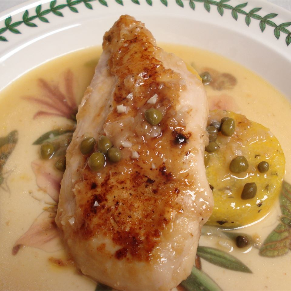 Light Chicken Piccata
