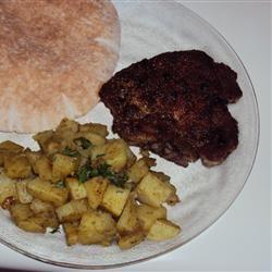 Coriander and Cumin Rubbed Pork Chops Tamaraluvsfood