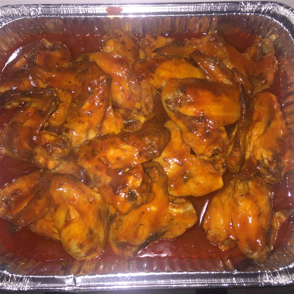 Awesome Slow Cooker Buffalo Wings Brandy N André Bolden