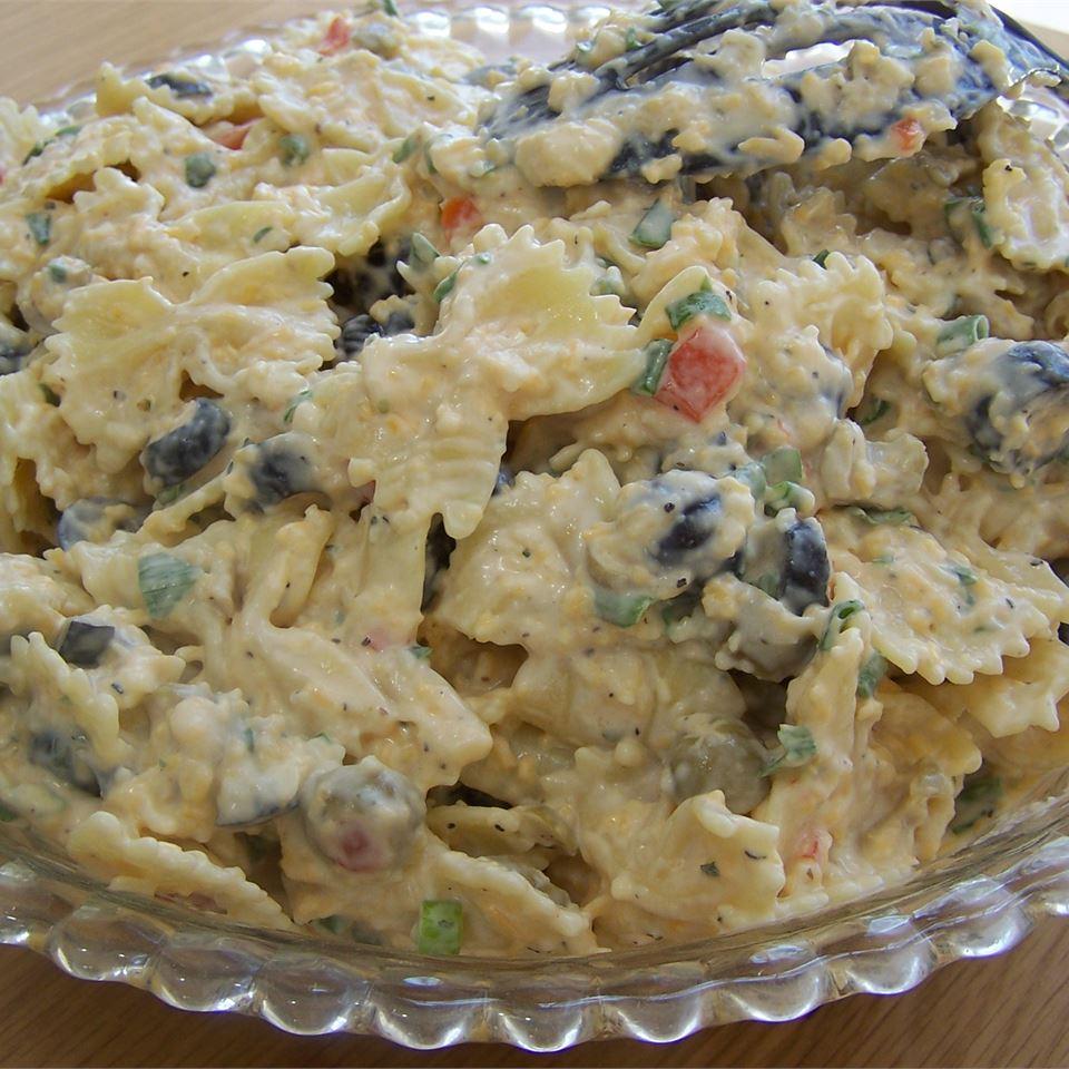 Ranch Pasta Salad Shannon Hewett