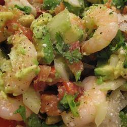 Avocado-Shrimp Salad Ms. Ho