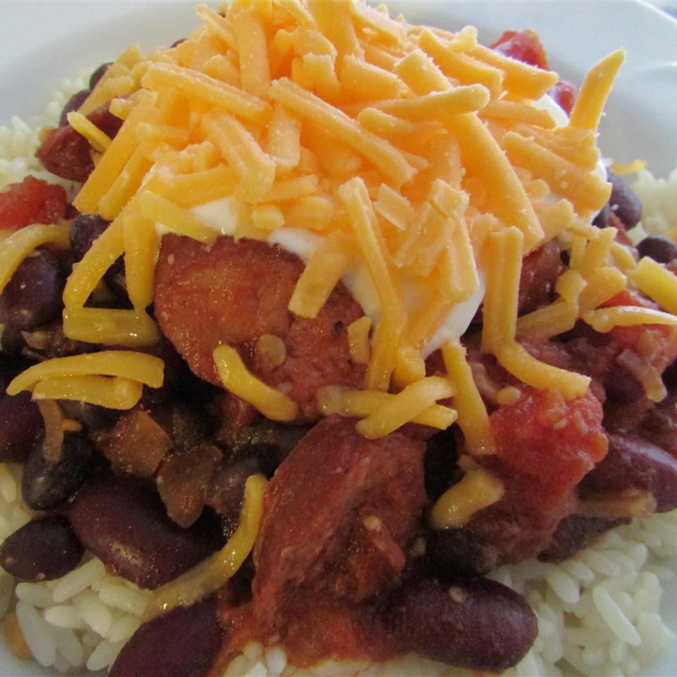 Chipotle and Chorizo Chili the4taals