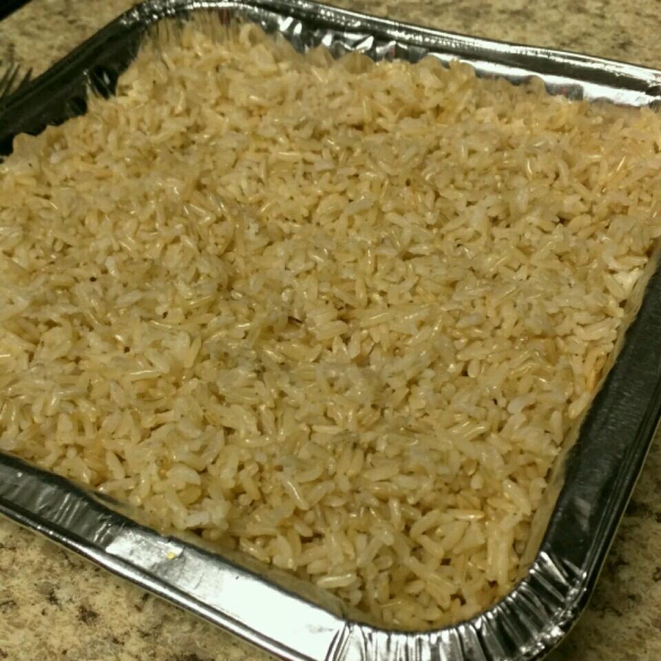 Oven-Baked Brown Rice Saki
