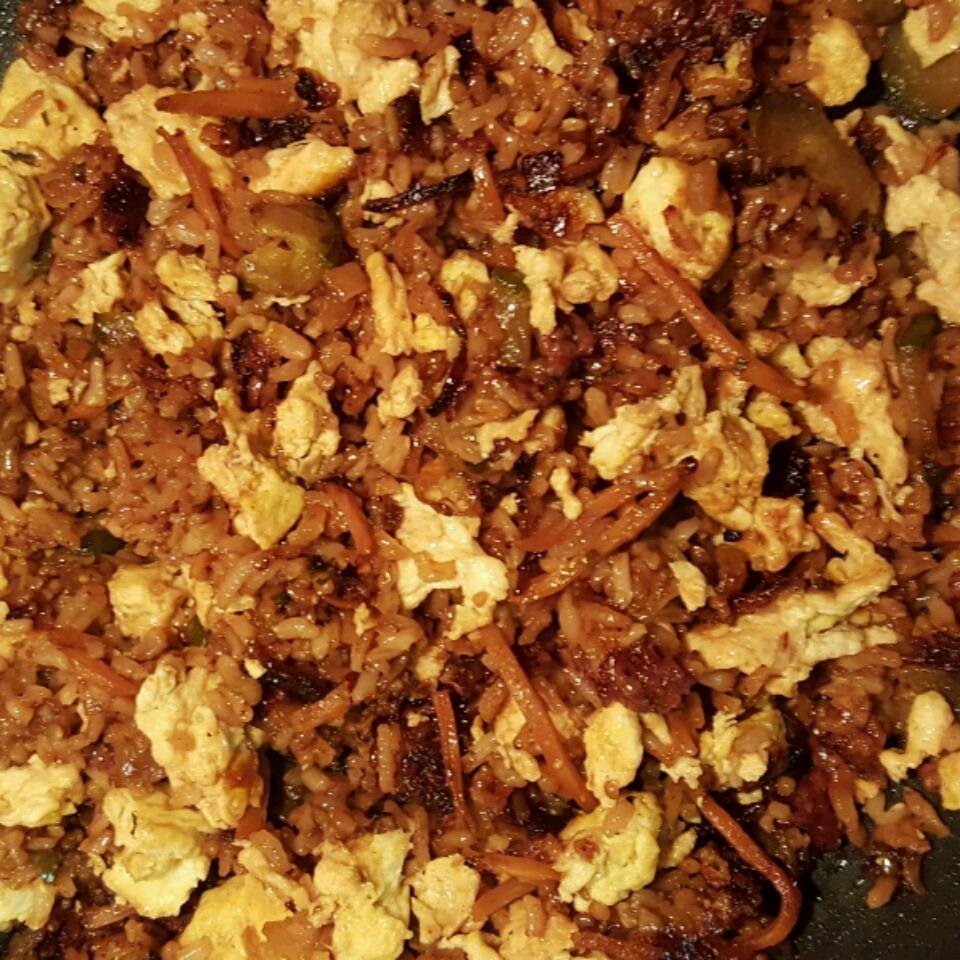 Easy Bacon Fried Rice Georsy F.