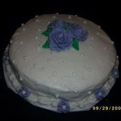 Wedding Cake Icing CookieMonster