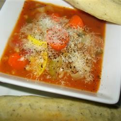 Italian Vegetable Soup PAMELA D. aPROpos of nothing