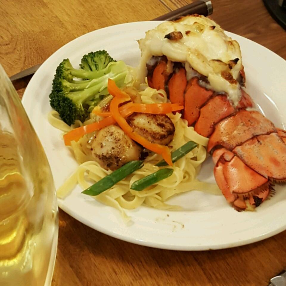 Scallops with White Wine Sauce II