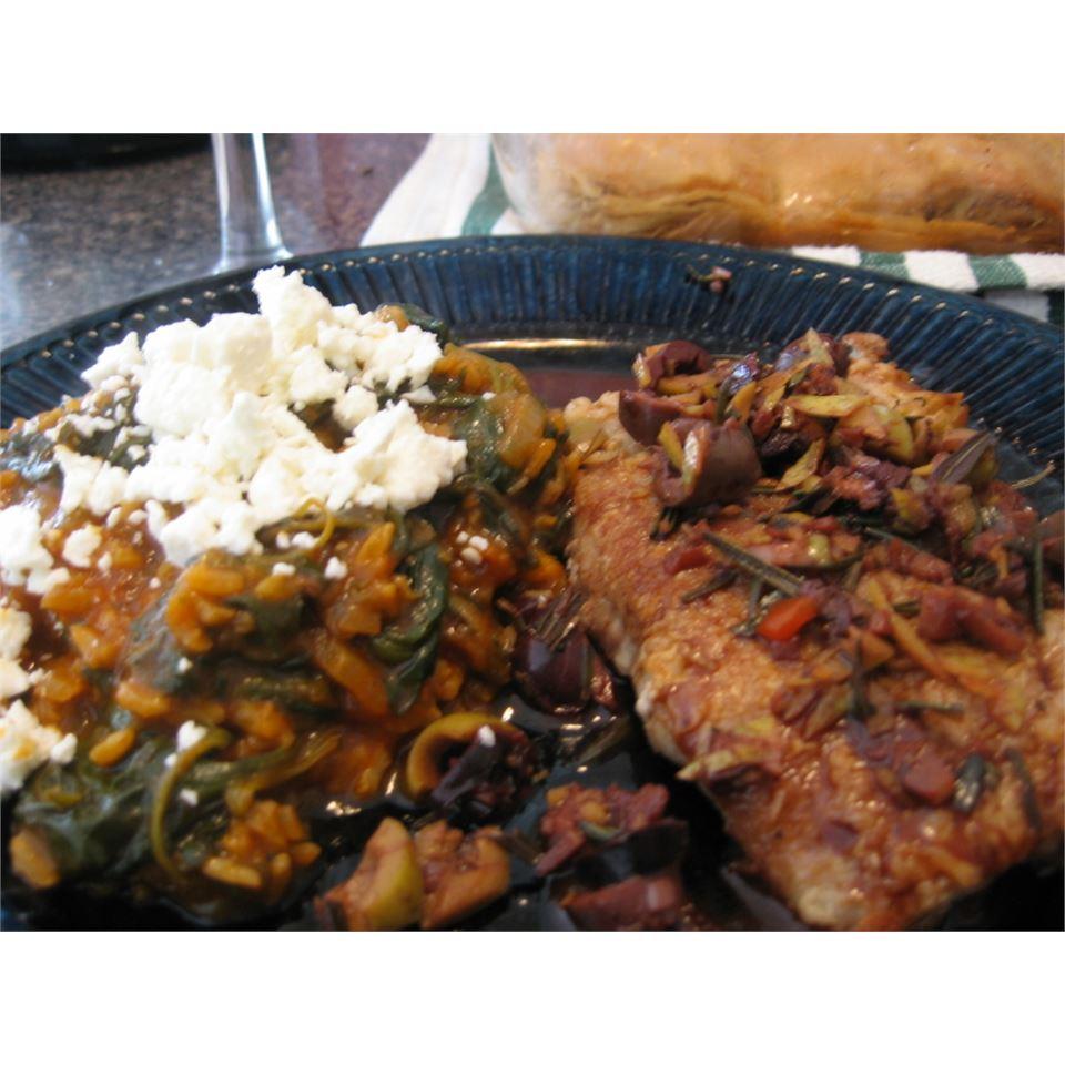 Kalamata Pork Tenderloin with Rosemary Liz Spangler McKendry