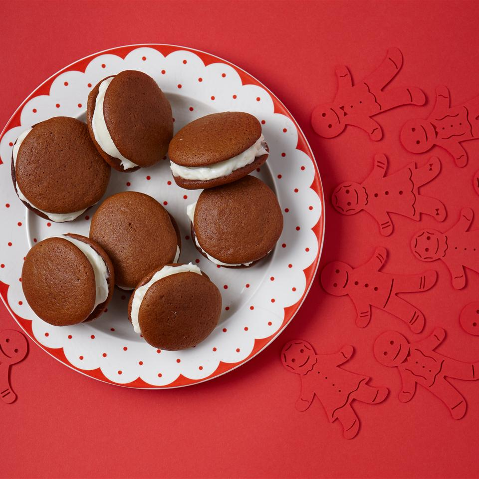 Gingerbread Whoopie Pies Allrecipes Magazine