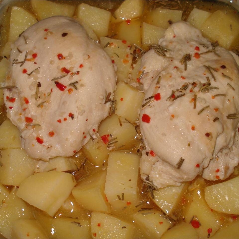 Zesty Chicken and Potatoes Kristen O'Brien