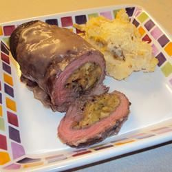 Stuffed Flank Steak BarbiAnn