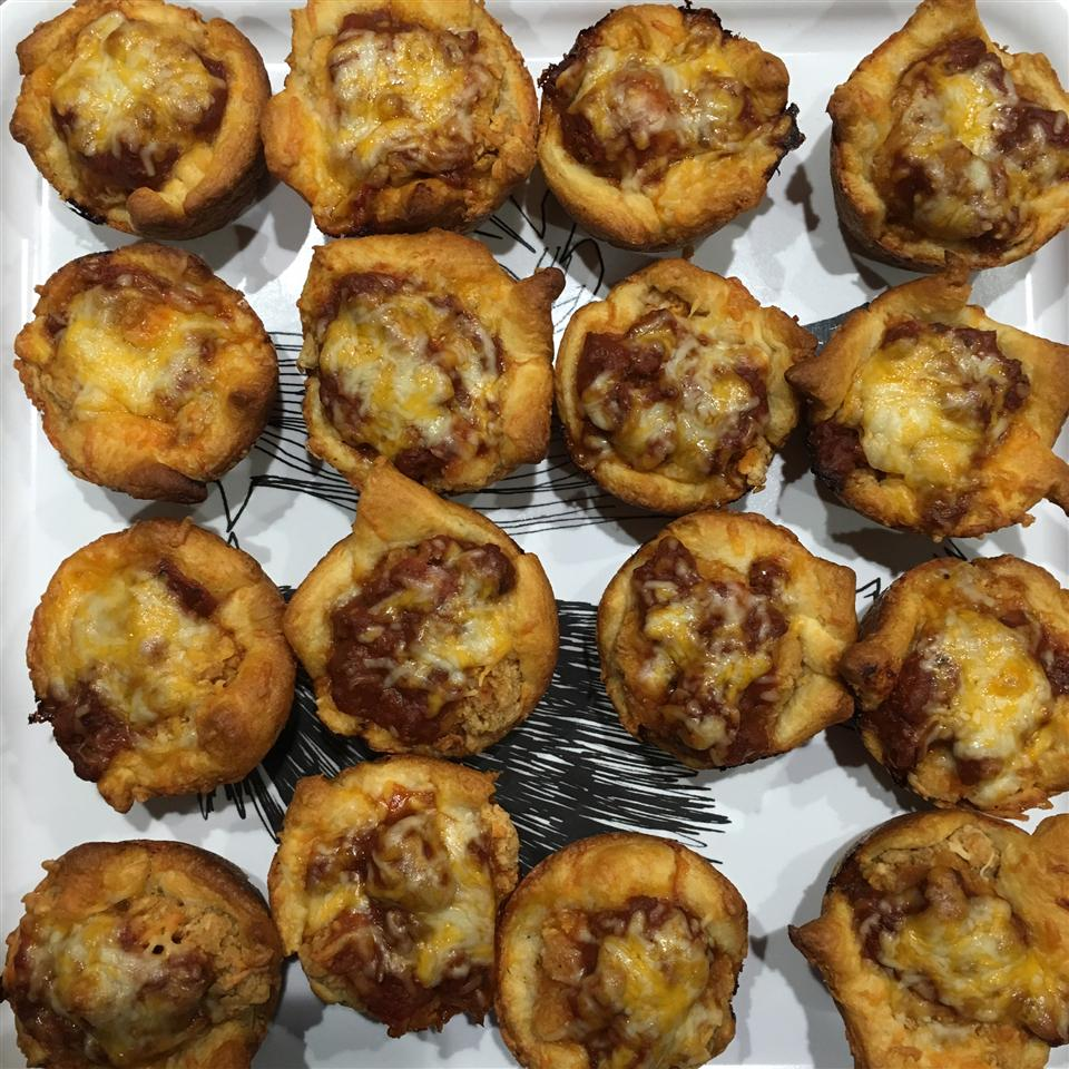Parmesan Chicken Mini Pies Stephanie Lynn Hubbard