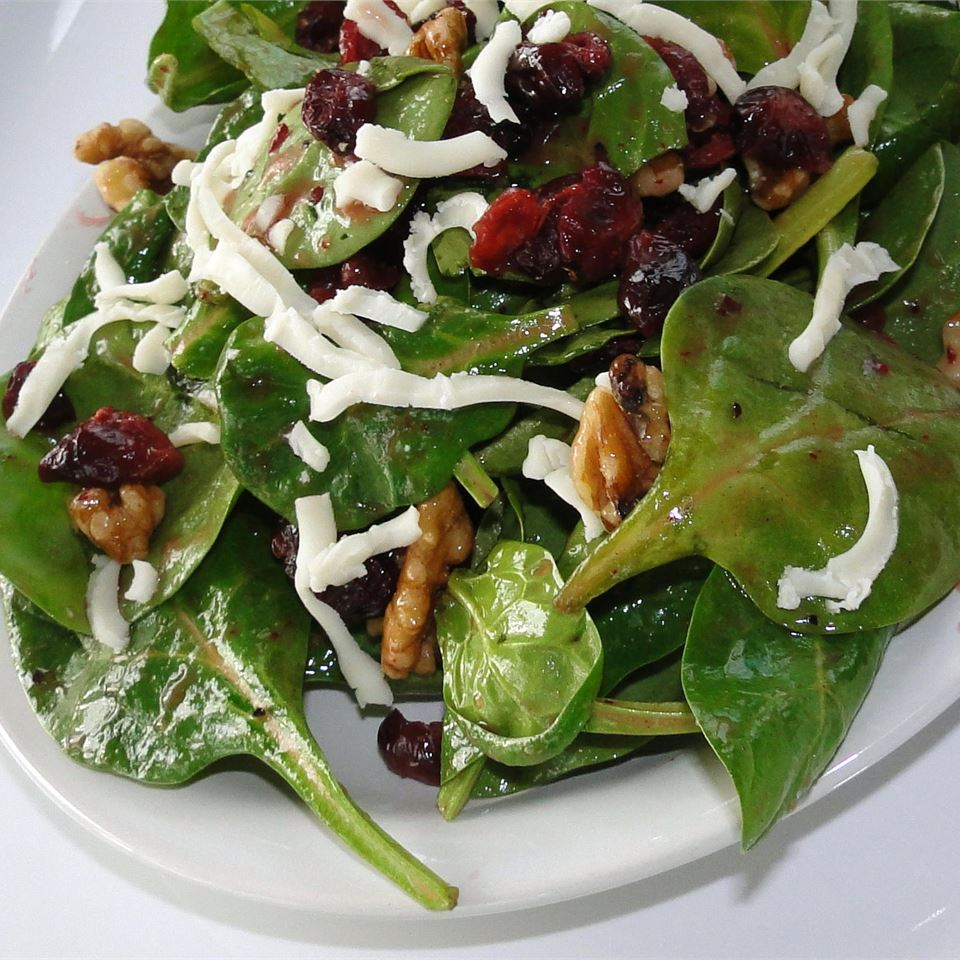 Simple Cranberry Spinach Salad Recipe Allrecipes