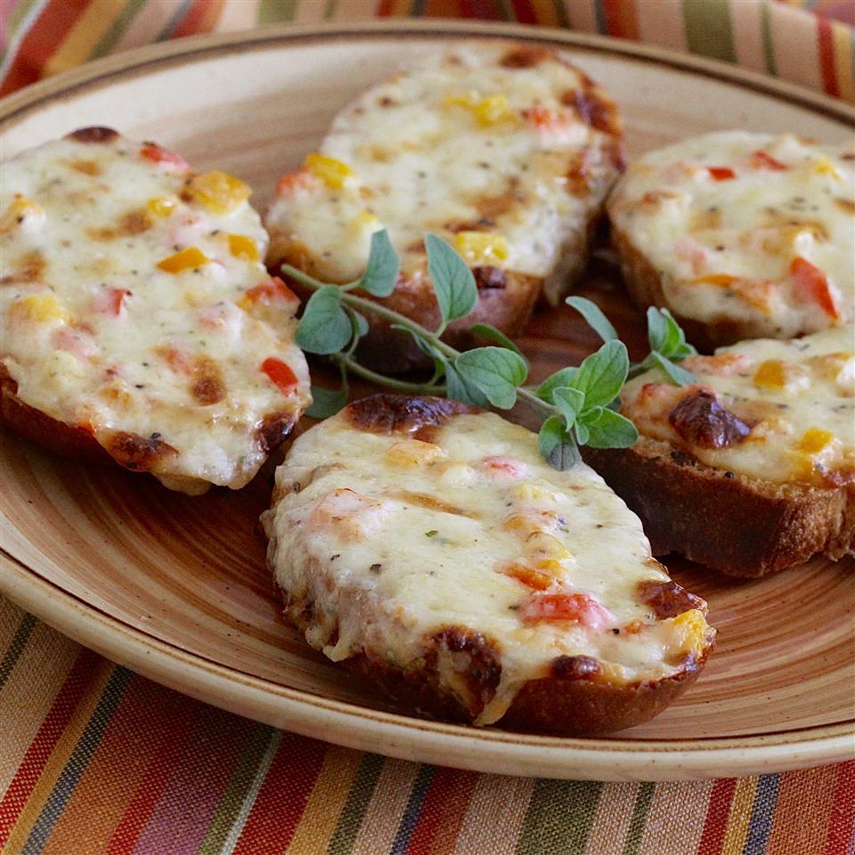 Swiss Cheese Toasts