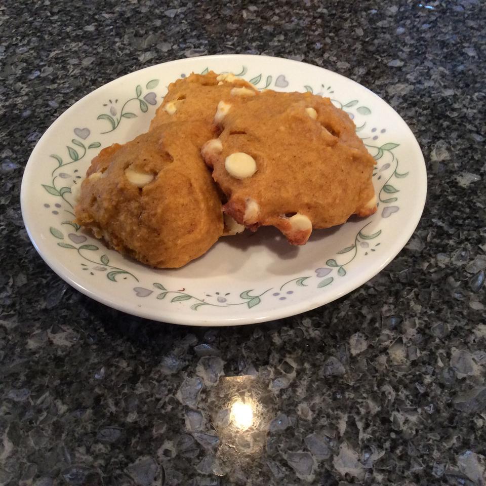 Pumpkin White Chocolate Cookies Heather MacMurdo