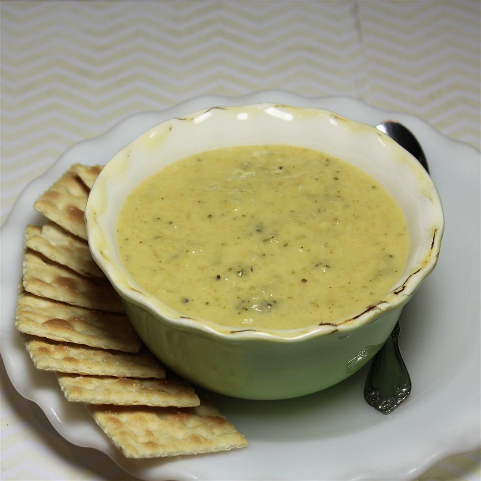 Creamy Broccoli Soup Paula