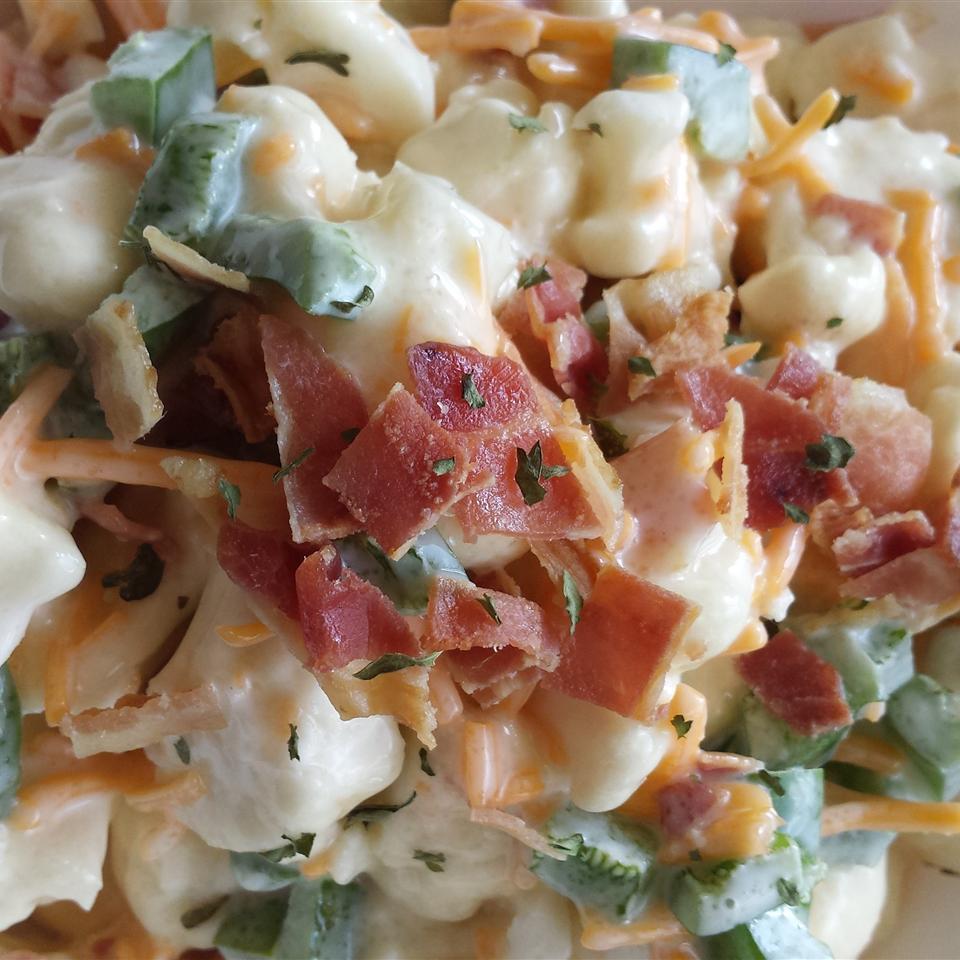 Cauliflower Salad with Cheddar and Bacon Liz Dalton 'Lizzie'