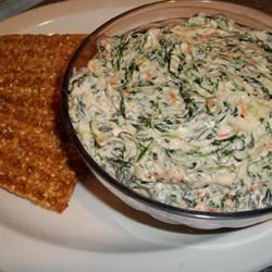 Spinach Dip Lady at the Stove
