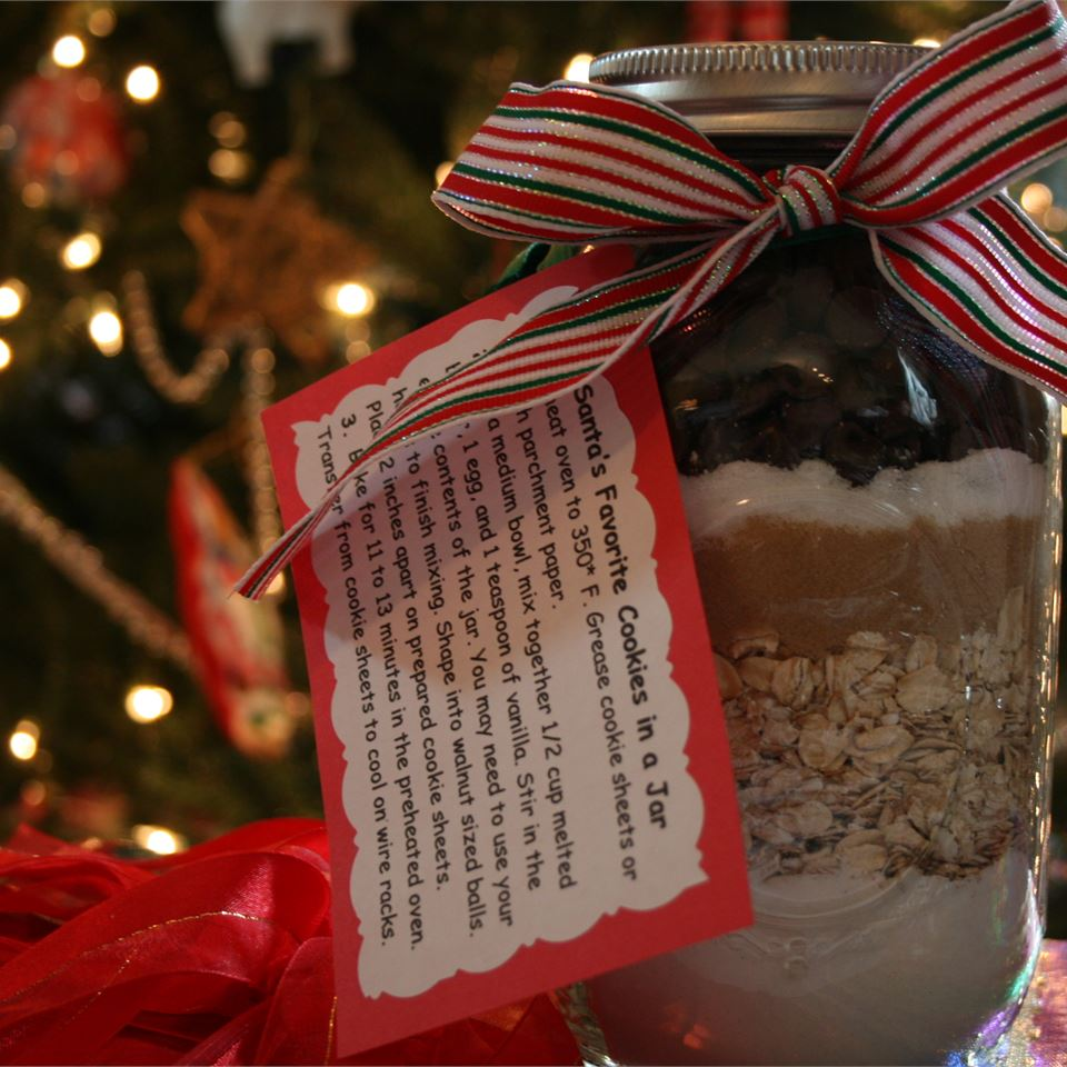 Cowboy Cookie Mix in a Jar S.Michael